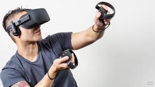 O Touch Controller για τα γυαλιά VR