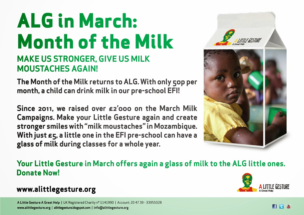 March: Month of the Milk