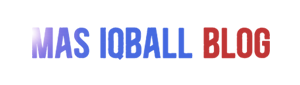 Mas Iqball blog