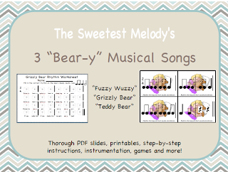 http://www.teacherspayteachers.com/Product/3-Bear-y-Musical-Songs-926727
