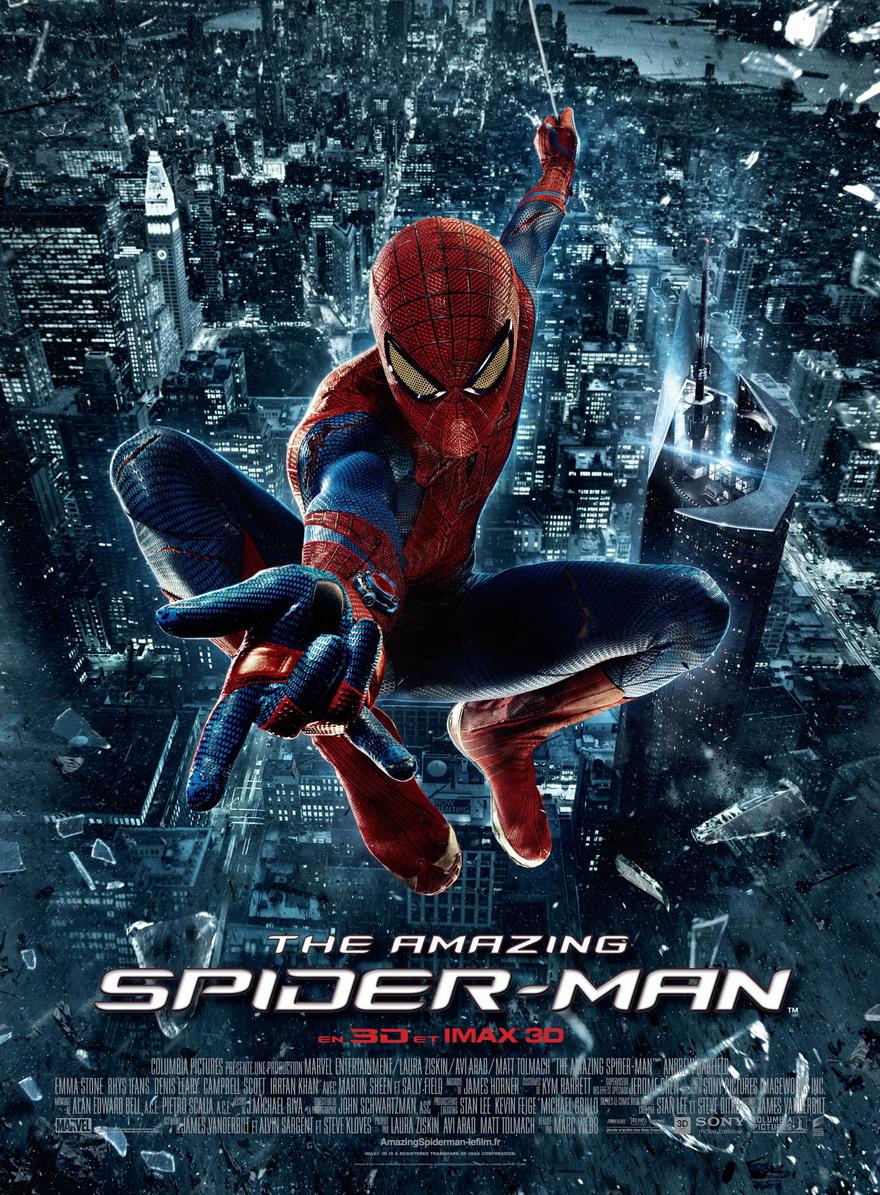 ce que vous avez vu récemment... - Page 19 The-Amazing-Spider-Man-affiche
