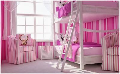Decoração quarto de menina inspirado na hello kitty