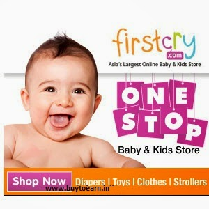Firstcry : Baby products Rs. 300 off on Rs. 999, Rs. 500 off on Rs. 2000