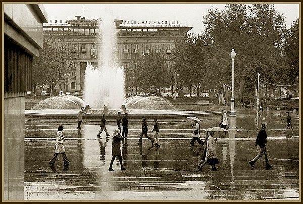 Гостиница Ташкент - старое фото