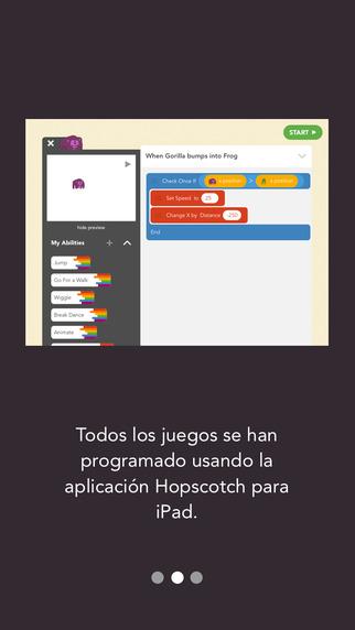 Hopscotch, aplicación para iPad.