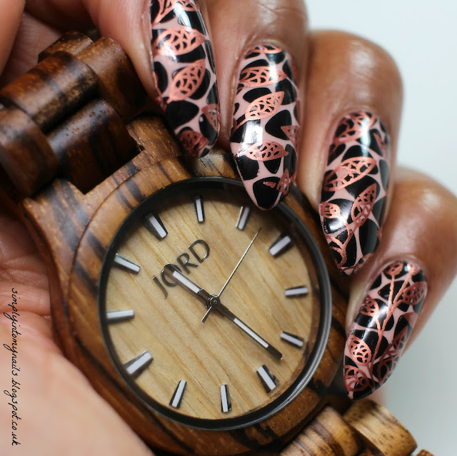JORD Wood Watch with OPI GelColor Tiramisu For Two