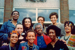 """Sistren: Black Women Writers at the Inauguration of Sister President Johnnetta B. Cole"" 1988."