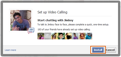 Facebook video calling setup 3