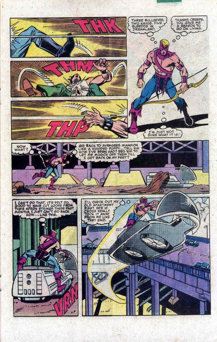 Hawkeye (1983) Issue #2 #2 - English 7