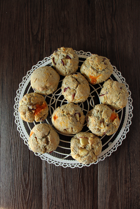 fruchtige scones mit nektarinen transglobal pan party. Black Bedroom Furniture Sets. Home Design Ideas