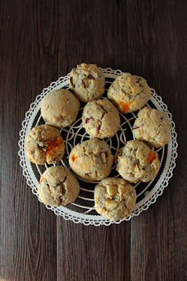 Nektarinen Scones