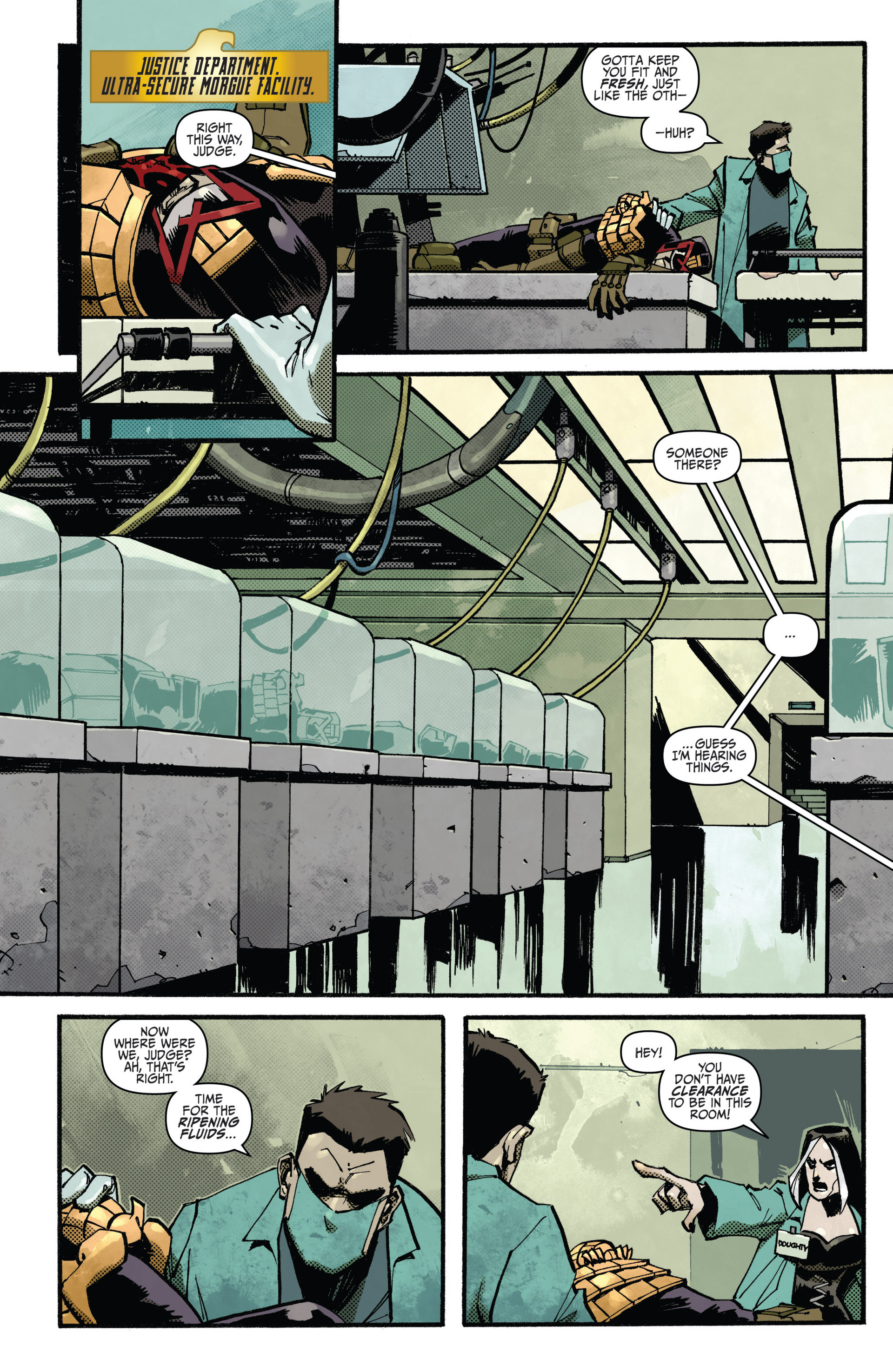 Read online Judge Dredd (2012) comic -  Issue #15 - 3