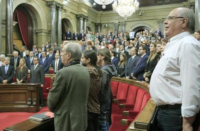 Pacto catalán para dejar España