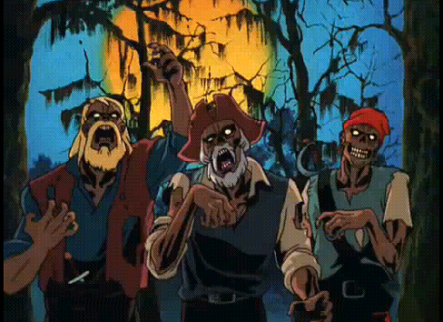 Scooby Doo on Zombie Island Video 1998