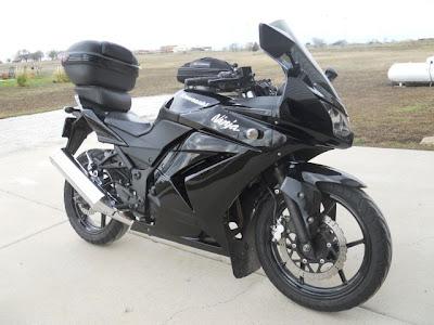 Ninja 250 modif touring