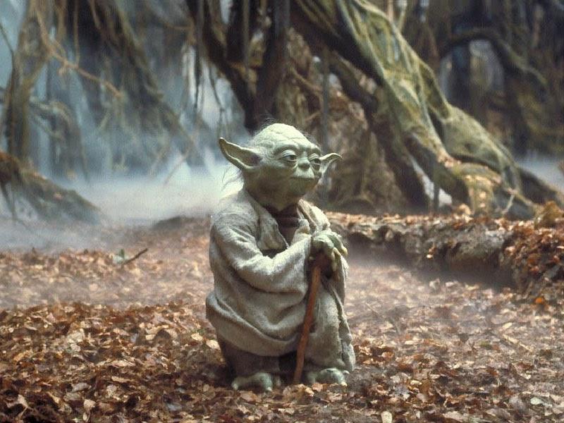 Fuckin' Yoda... dude!