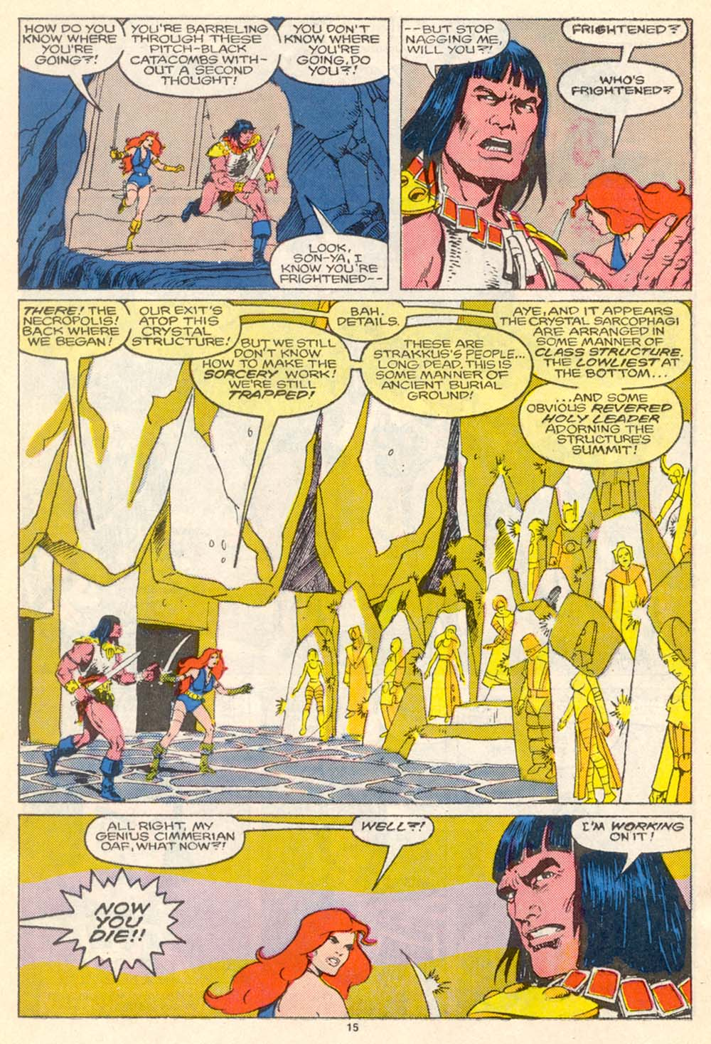 Conan the Barbarian (1970) Issue #205 #217 - English 16