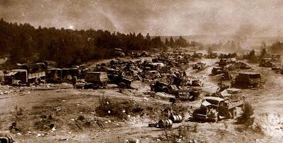 наглядный результат боевой работы советских штурмовиков