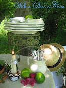 A Garden Tablescape