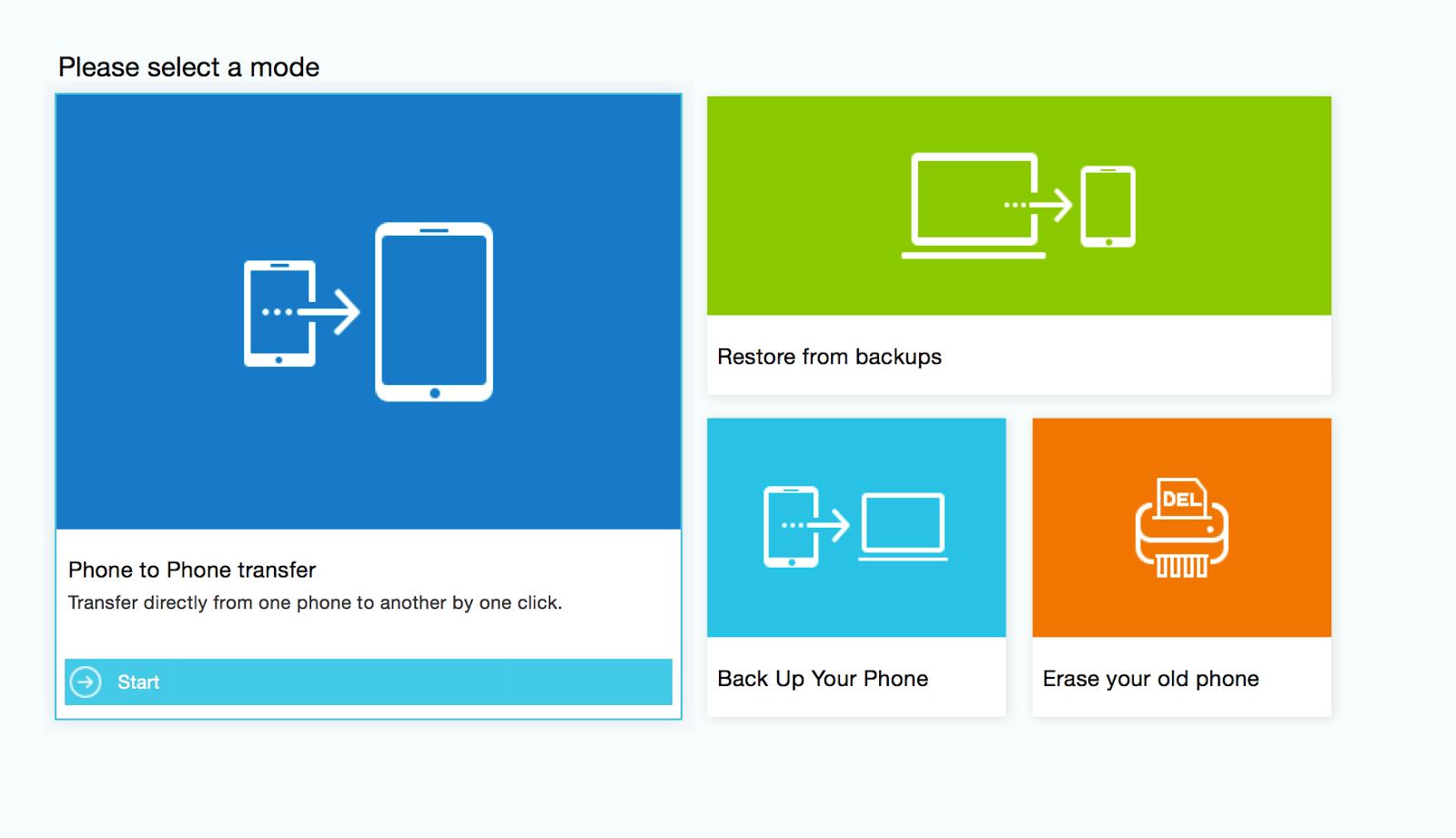 تعرف على برنامج Wondershare MobileTrans لإدارة الهواتف على الماك و الويندوز