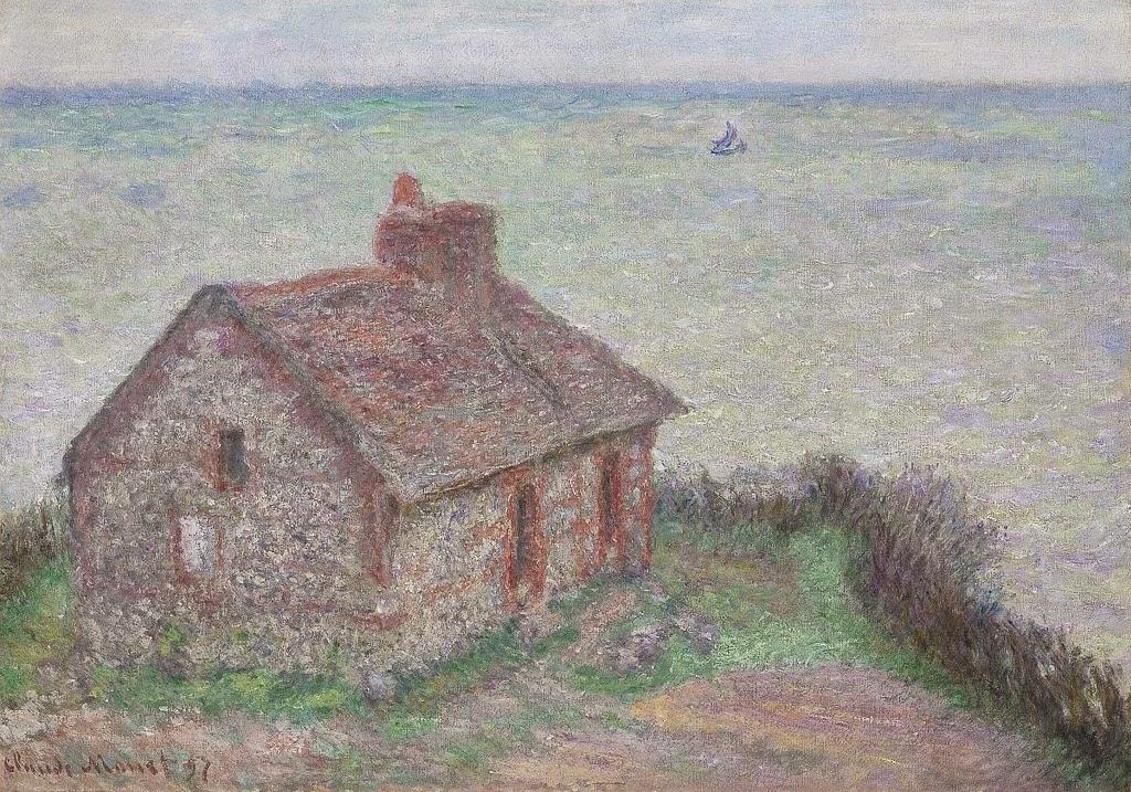 La Maison du douanier, effet rose (1897)