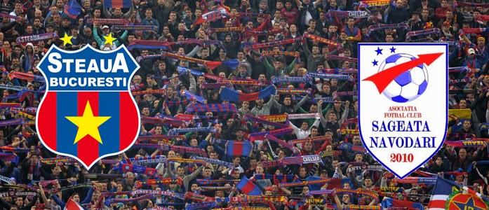 Săgeata Năvodari Steaua online 23 martie 2014