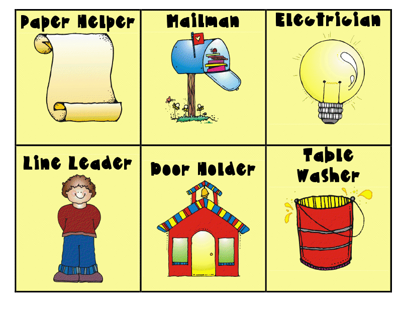 Modern Classroom Jobs ~ Lesson template from teacher to sub new calendar