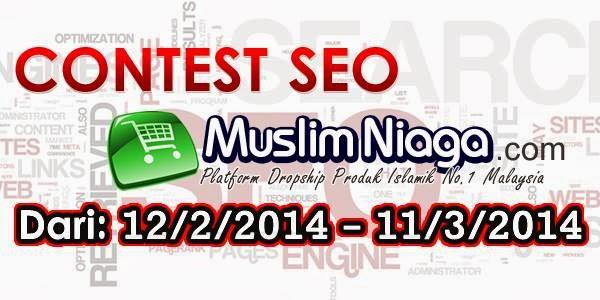 Contest seo MUSLIM NIAGA