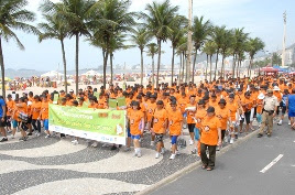 World Osteoporosis Day march in Brazil