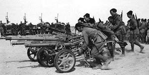 GIOVANI FASCISTI A BIR EL GOBI NEL DICEMBRE DEL 1941