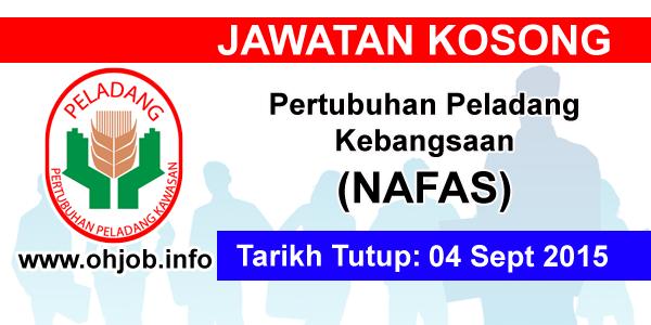 Jawatan Kerja Kosong Pertubuhan Peladang Kebangsaan (NAFAS) logo www.ohjob.info september 2015