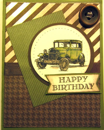 Crafty Marias Stamping World Happy Birthday