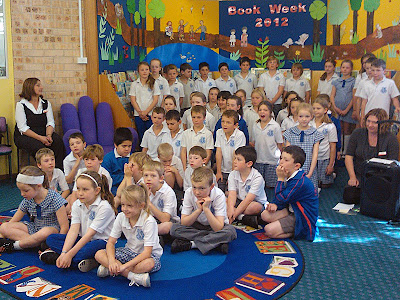Heathcote East Public School Choir at Engadine Library