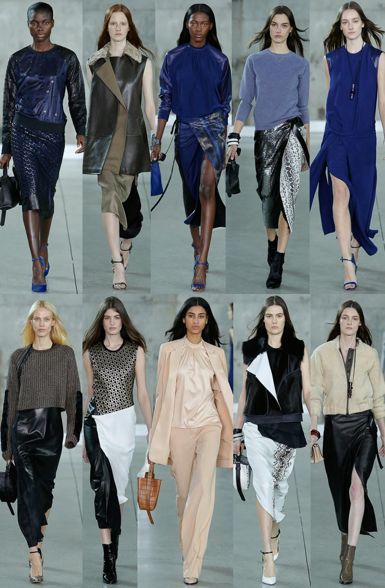 Reed Krakoff fall winter 2014 runway collection, NYFW, fashion week