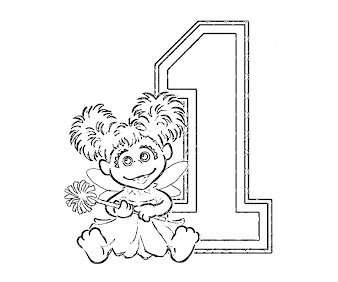 #7 Abby Cadabby Coloring Page