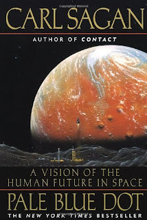 Famous book by Carl Sagan