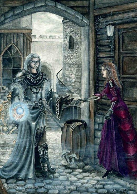 """""""Necromancer"""" by Katarzyna Kowalczyk por Katarzyna Kowalczyk"""