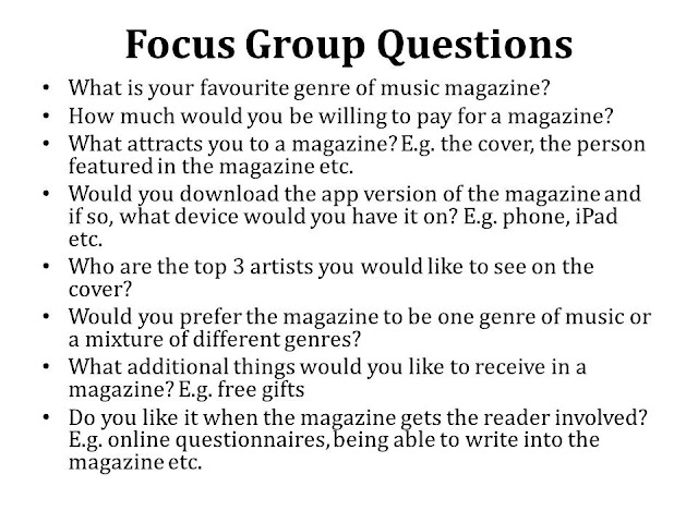 AS Media Blog Focus Group Questions