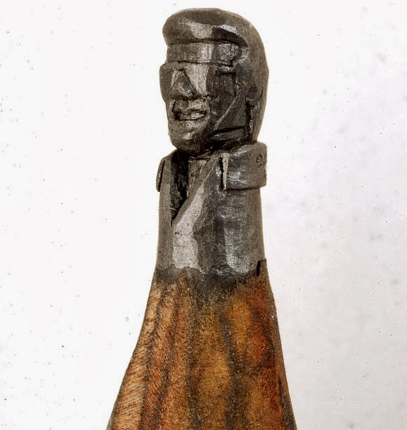 Incredible mind blowing quot pencil lead sculpture by dalton