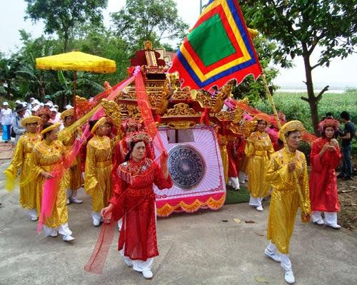 Lễ hội cầu mưa ở Chùa Dâu Bắc Ninh