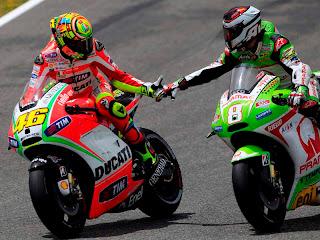 Hasil Lengkap GP Prancis 2012 : Lorenzo Juara, Rossi Kalahkan Stoner