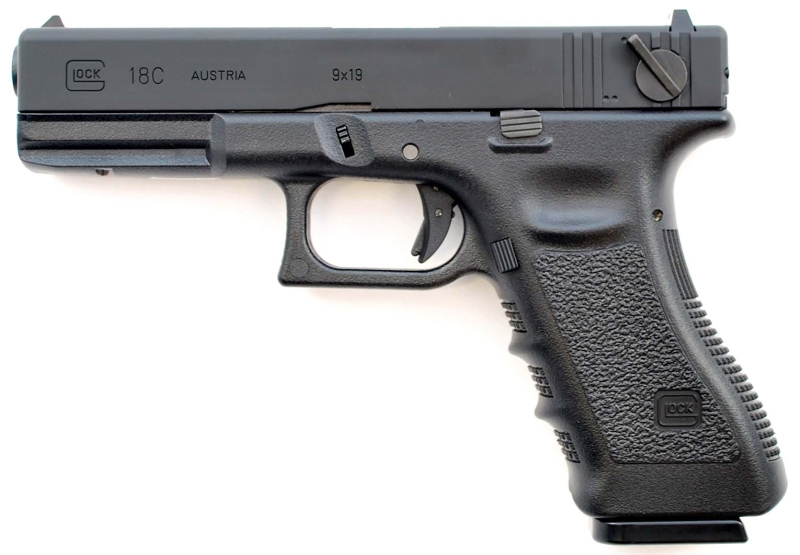 power and technology: Glock 18 and Glock 18c