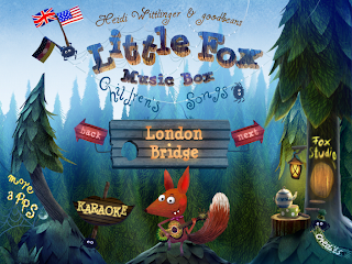 Little Fox Music Box, options, iPad, iPhone app