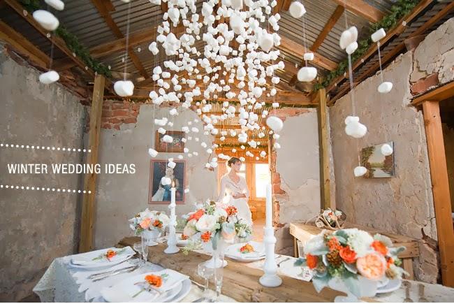 Bodas De Invierno Decoracion ~ centro de mesa boda en invierno