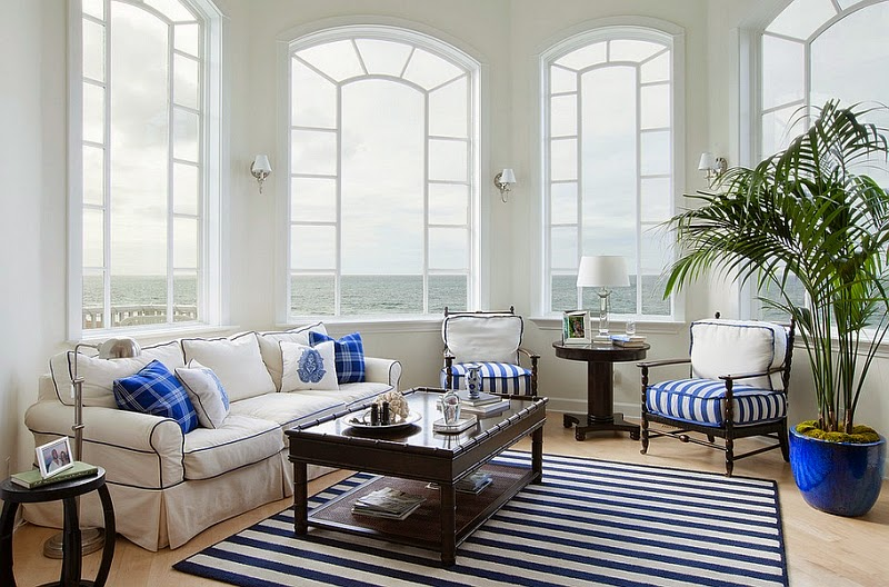 images of Blue and white interiors perfect solutions for your living spaces