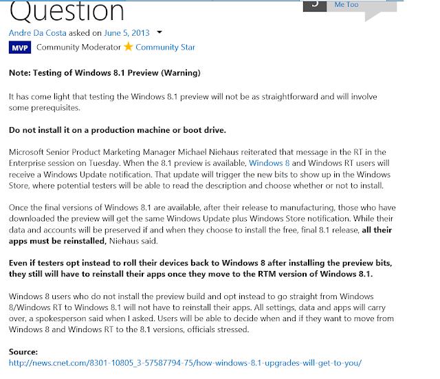 Renante Eras Blog Installing Microsoft Windows 81