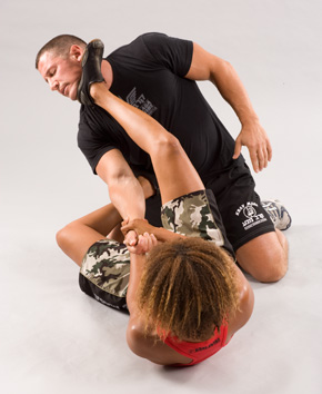 Women Triangle Choke