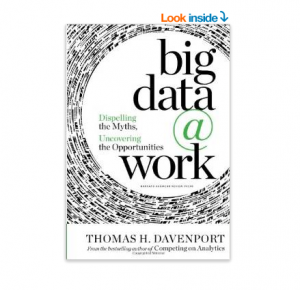 Amazon: Buy Big Data at Work: Dispelling the Myths, Uncovering the Opportunities (Paper Back) at Rs. 875
