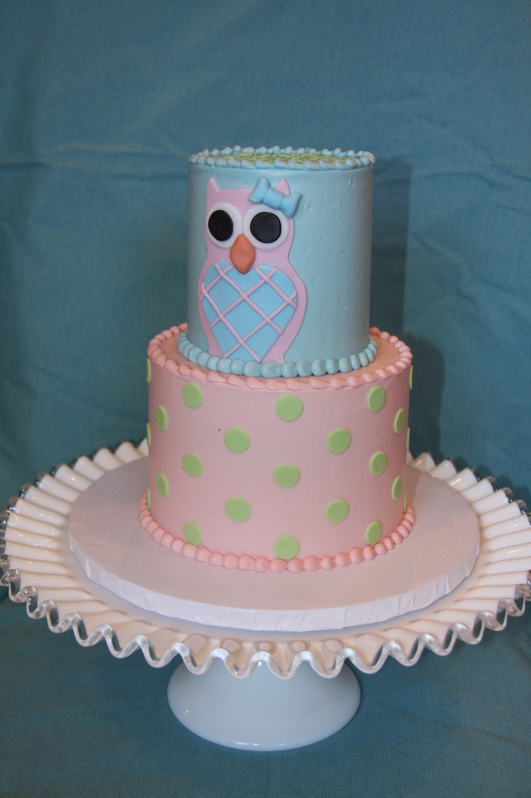 Frosted Fox On The Prowl Babys First Birthday Cake
