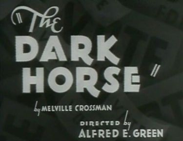 the dark horse 1932